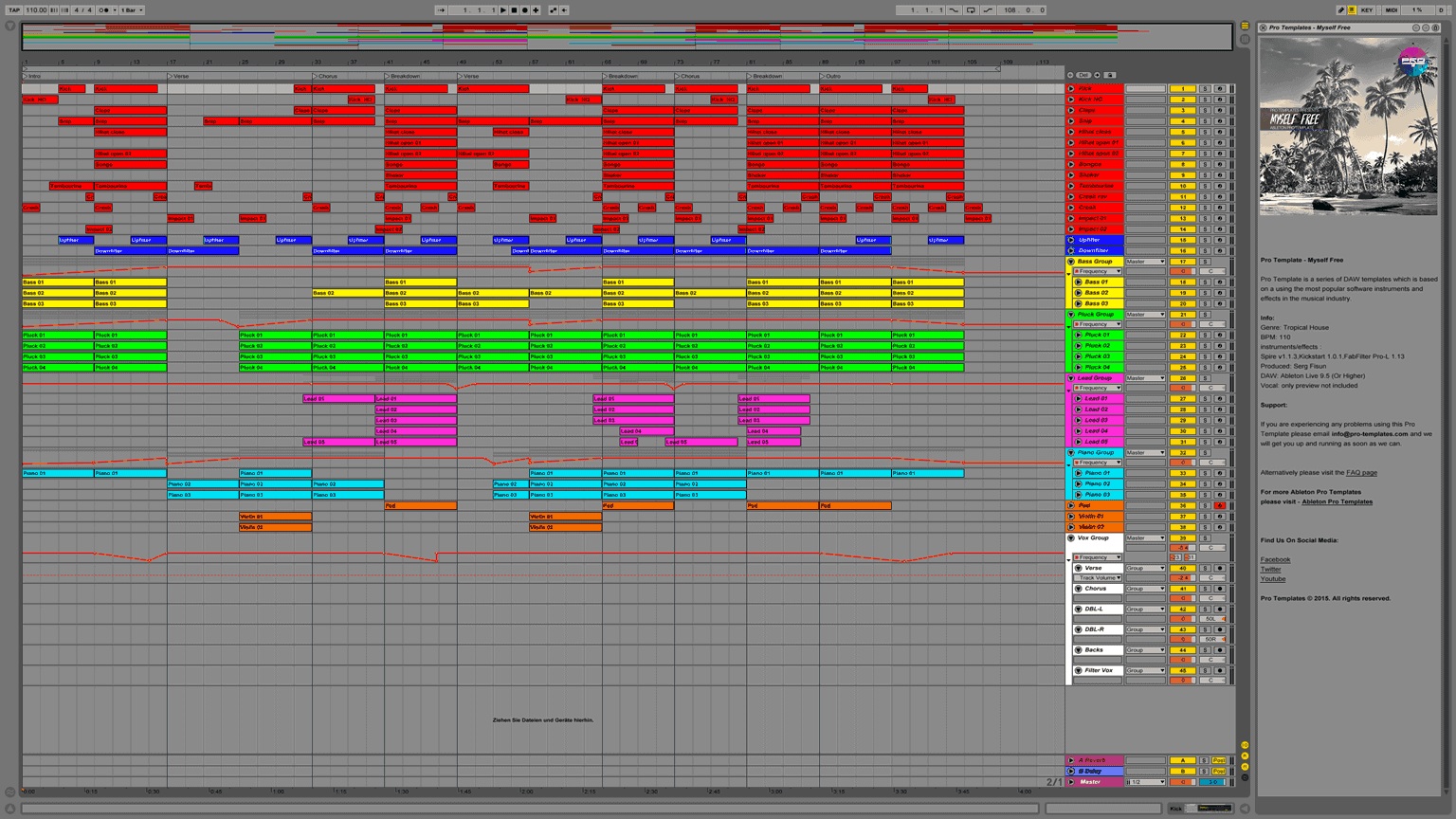 Myself-Free-Ableton-Pro-Template-Project1