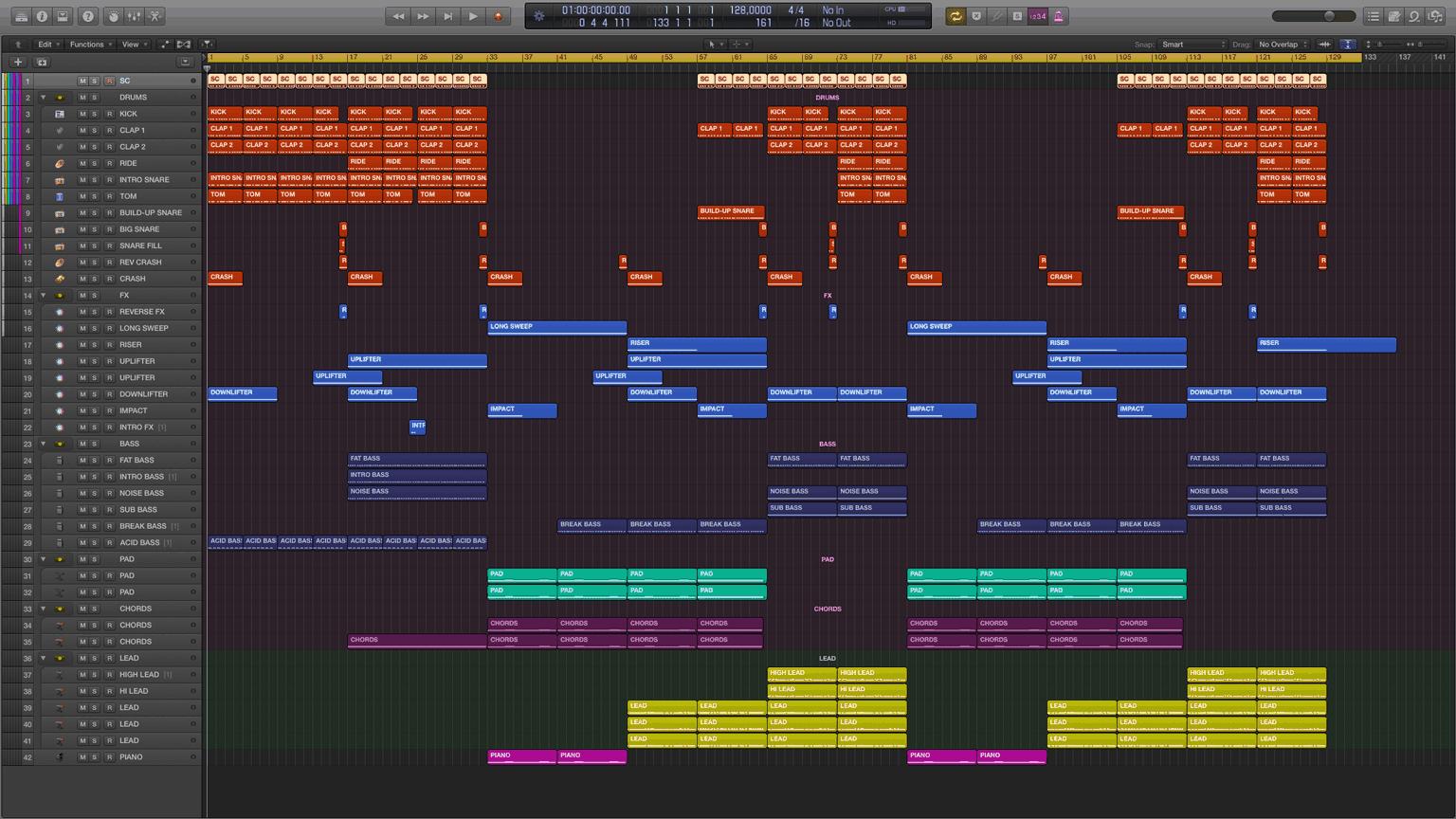 Side by Side Logic Pro X Template1