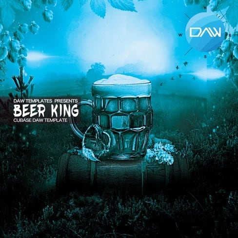 Beer-King-Cubase-DAW-Template