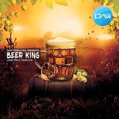 Beer-King-Logic-Pro-X-Template