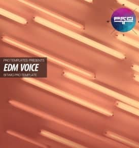 EDM-Voice-Bitwig-Pro-Template