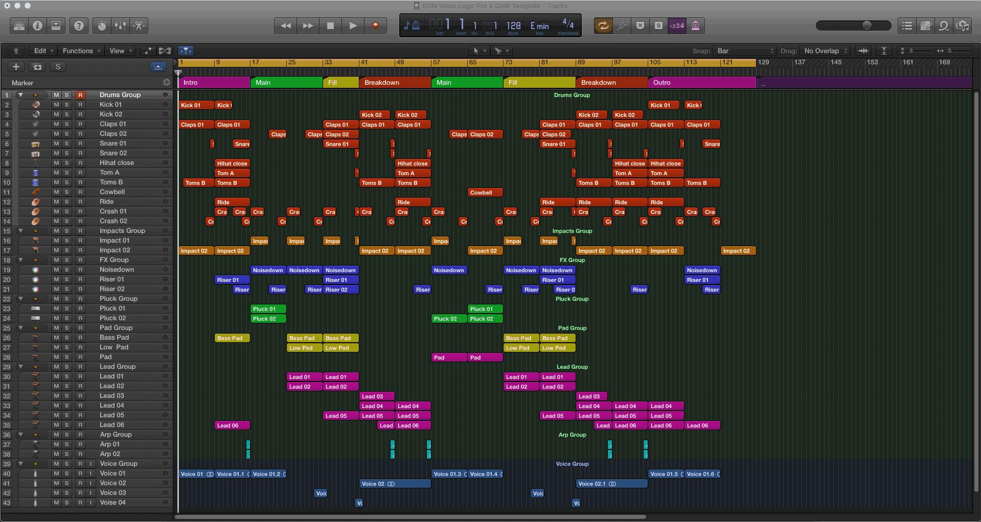 edm bass logic pro x