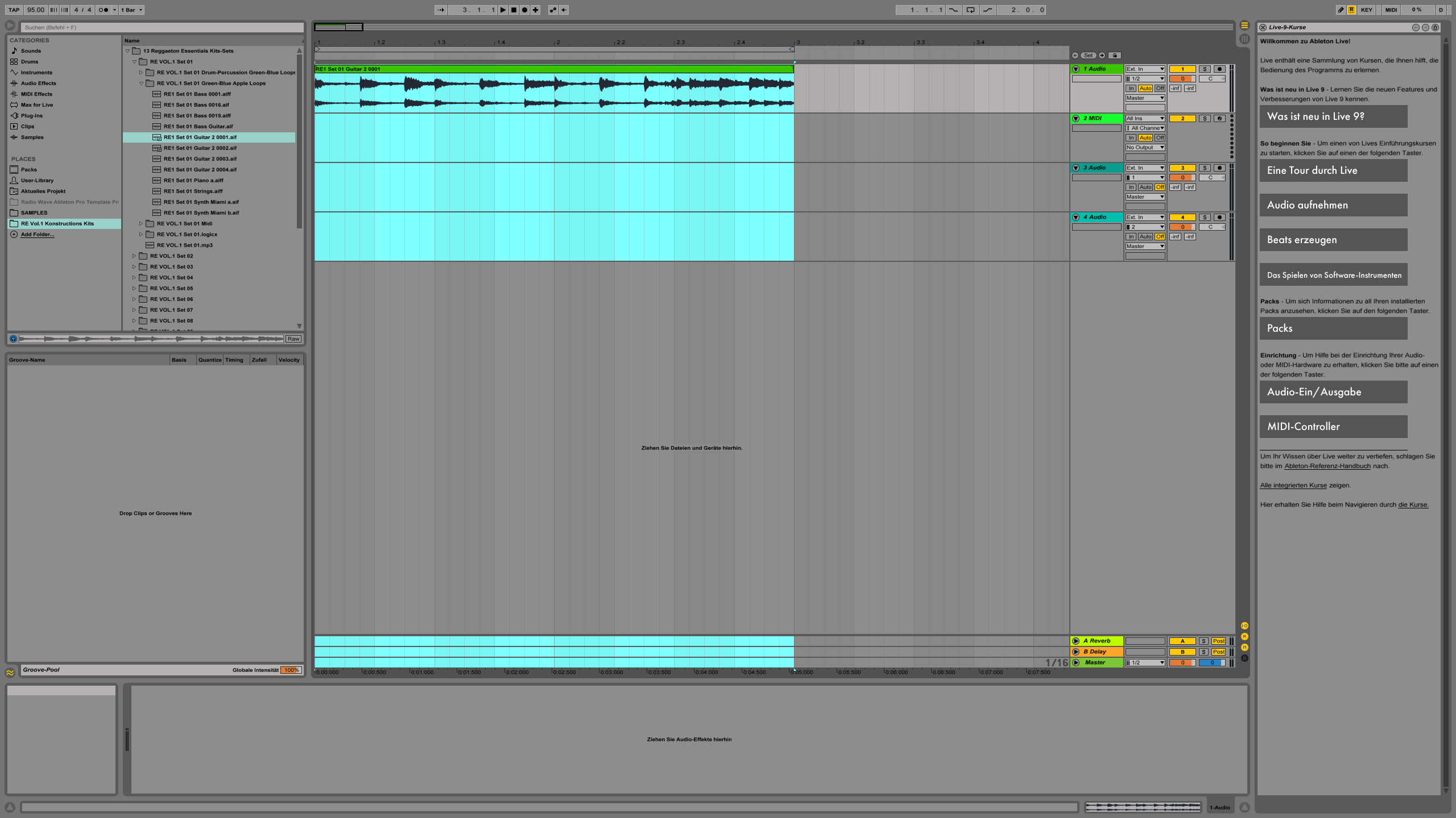 Green Apple Loops in Ableton Live