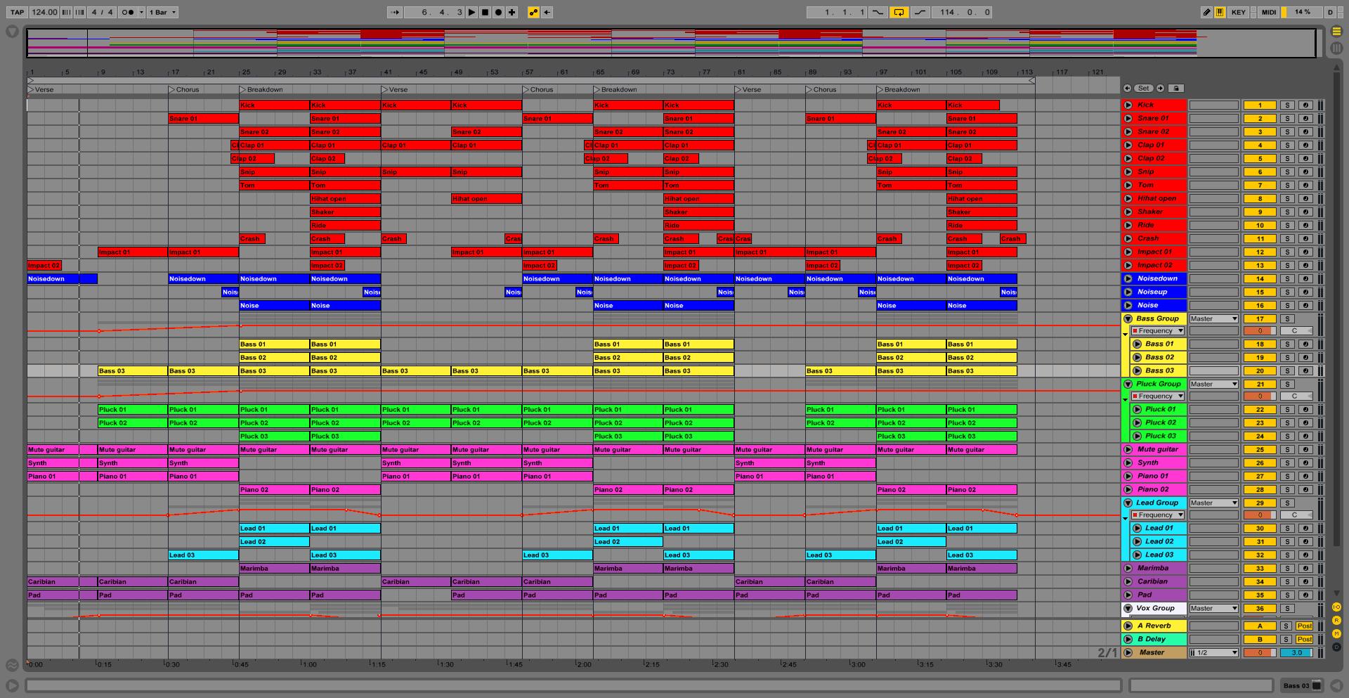 Summer Night Ableton Pro Template