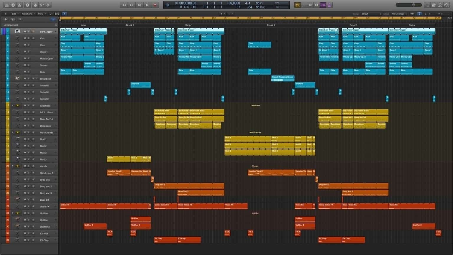 Free Your Mind Logic Pro X Template