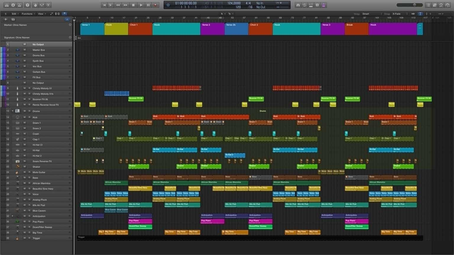 Only you Logic Pro X Template1