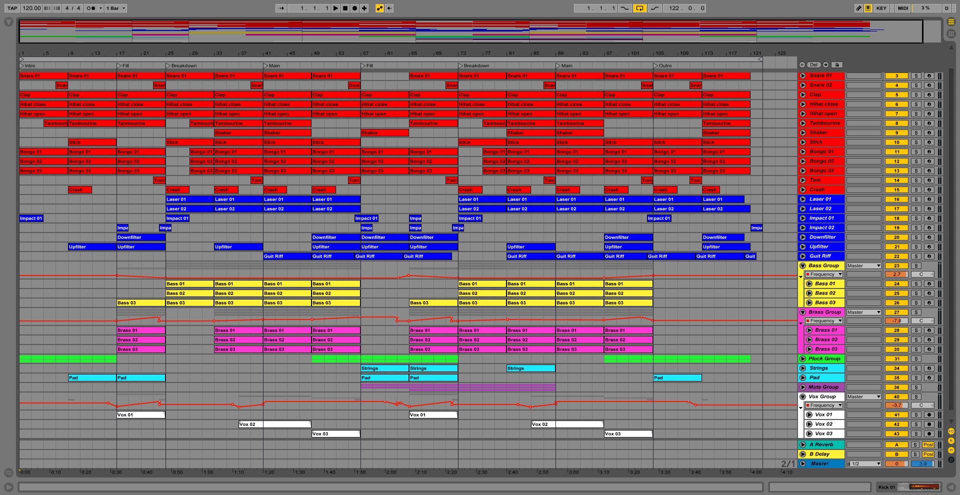 Еquilibrium Ableton DAW Template