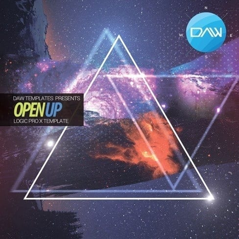 Open-Up-Logic-Pro-X-Template