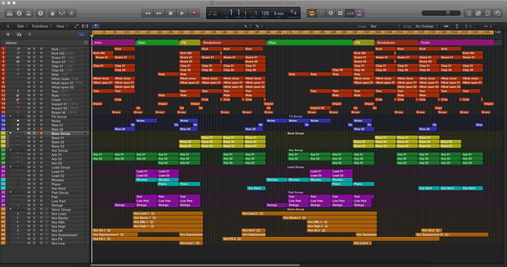 Superpower Logic X Pro Template (remix)