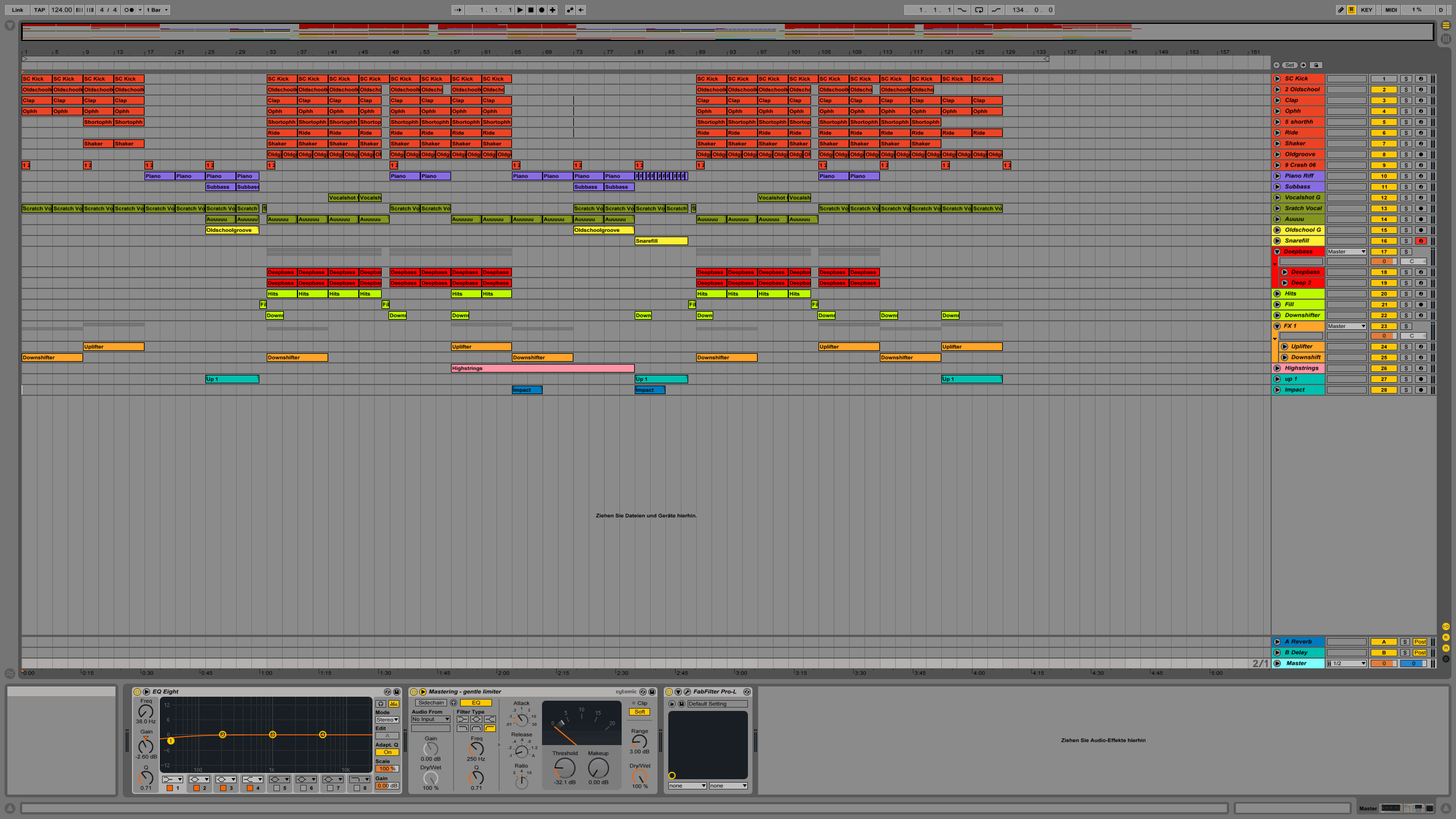 Golden House Ableton Live Template1