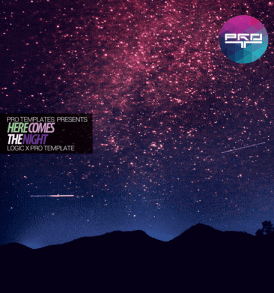 here-comes-the-night-logic-x-pro-template
