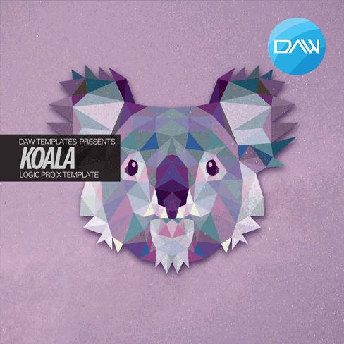 koala logic pro x template