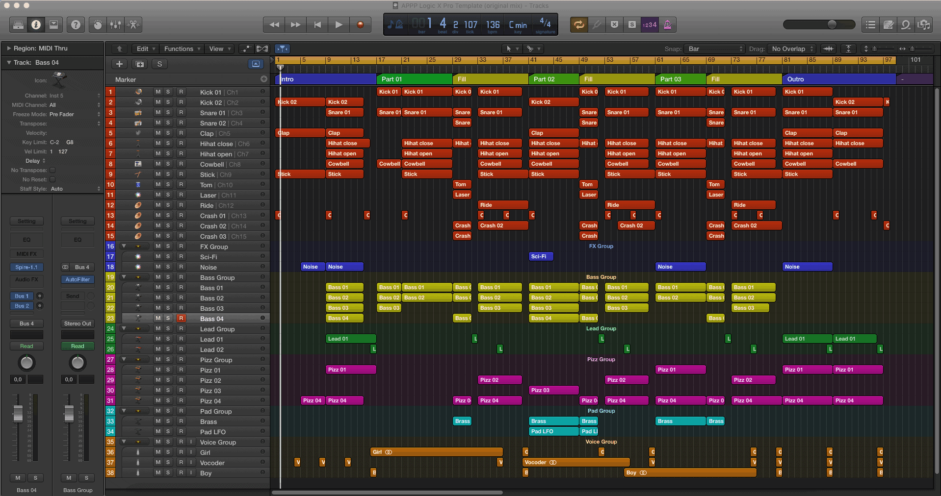 appp-logic-x-pro-template