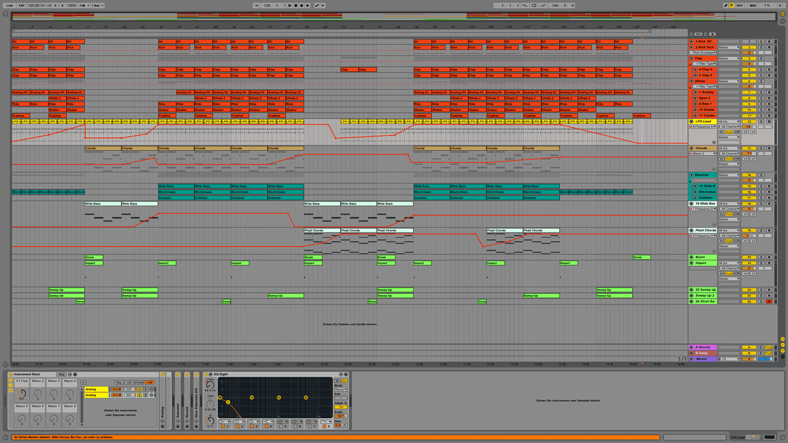 Exelent Ableton Dubstep Template Image Collection - Example Resume ...