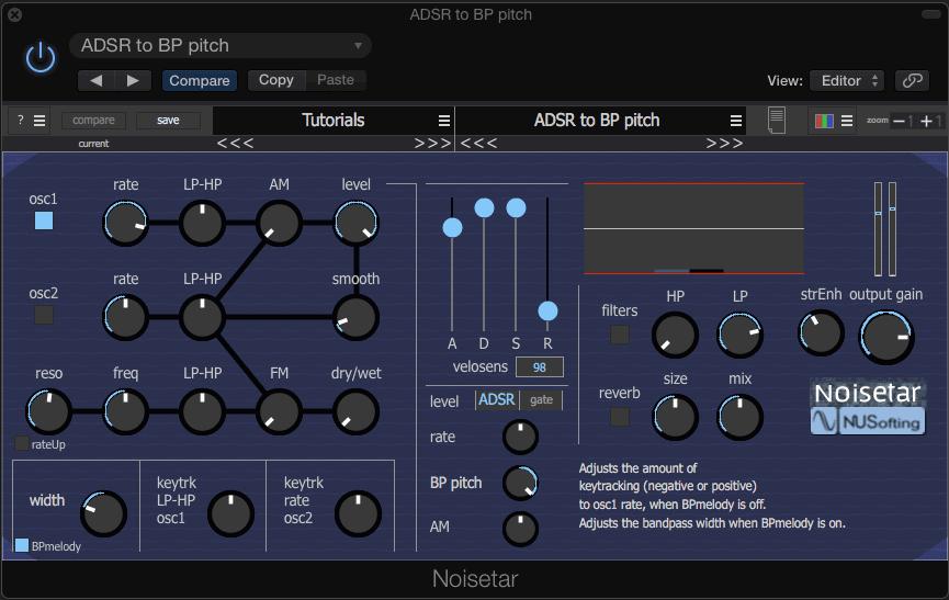 Free Synthesizer Plugin Noisetar