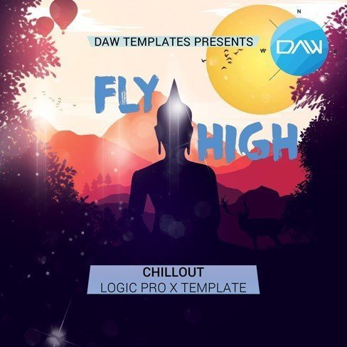 fly high logic pro x template