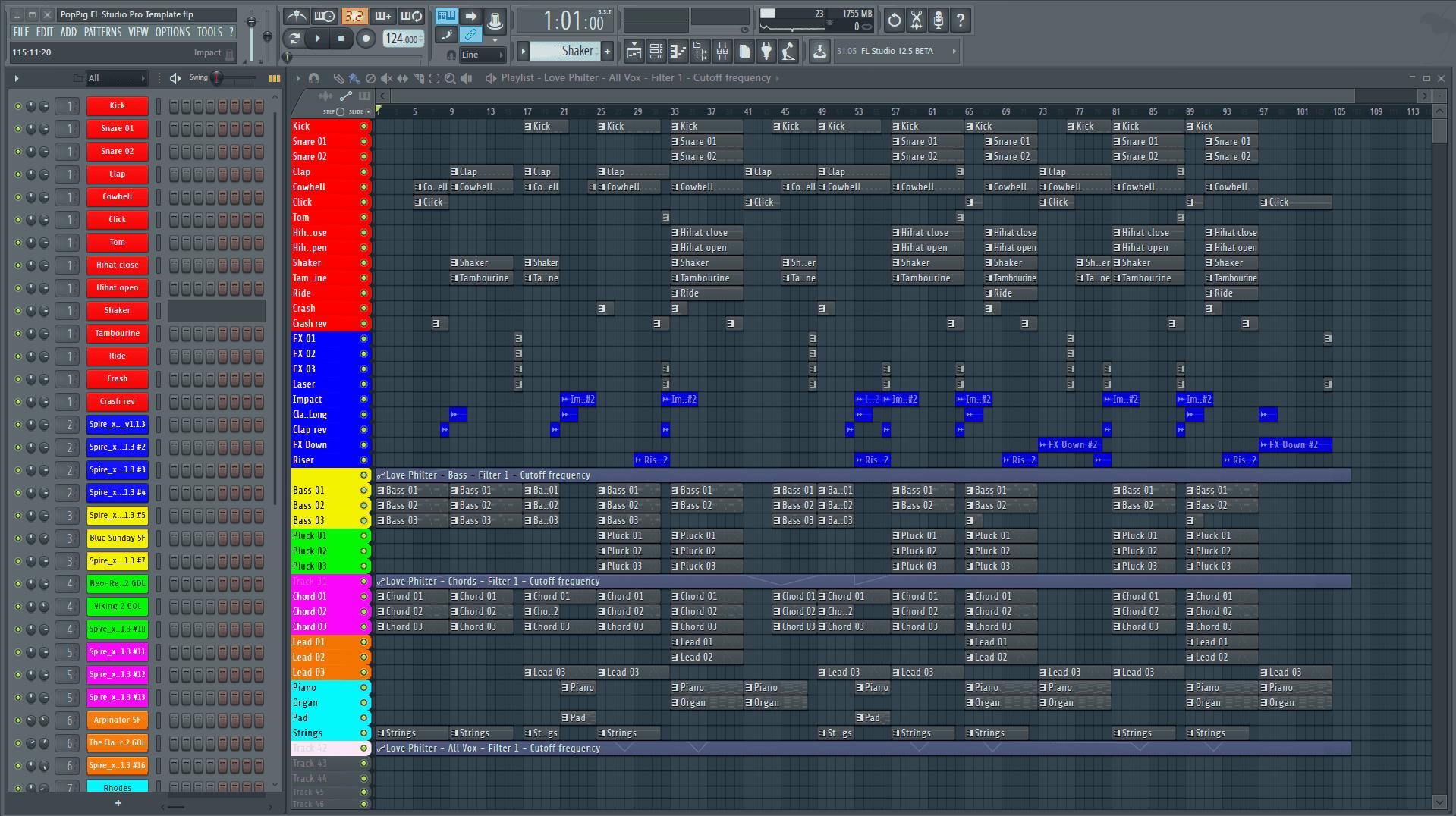 Poppig Fl Studio Pro Template