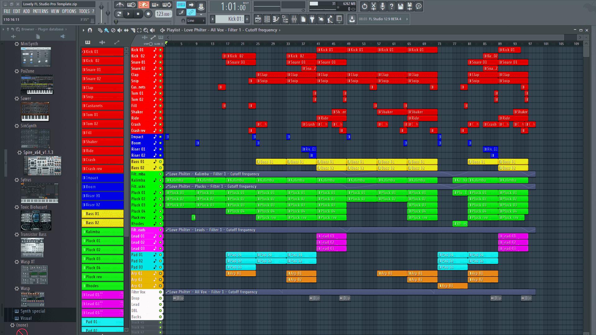 Lovely FL Studio Template