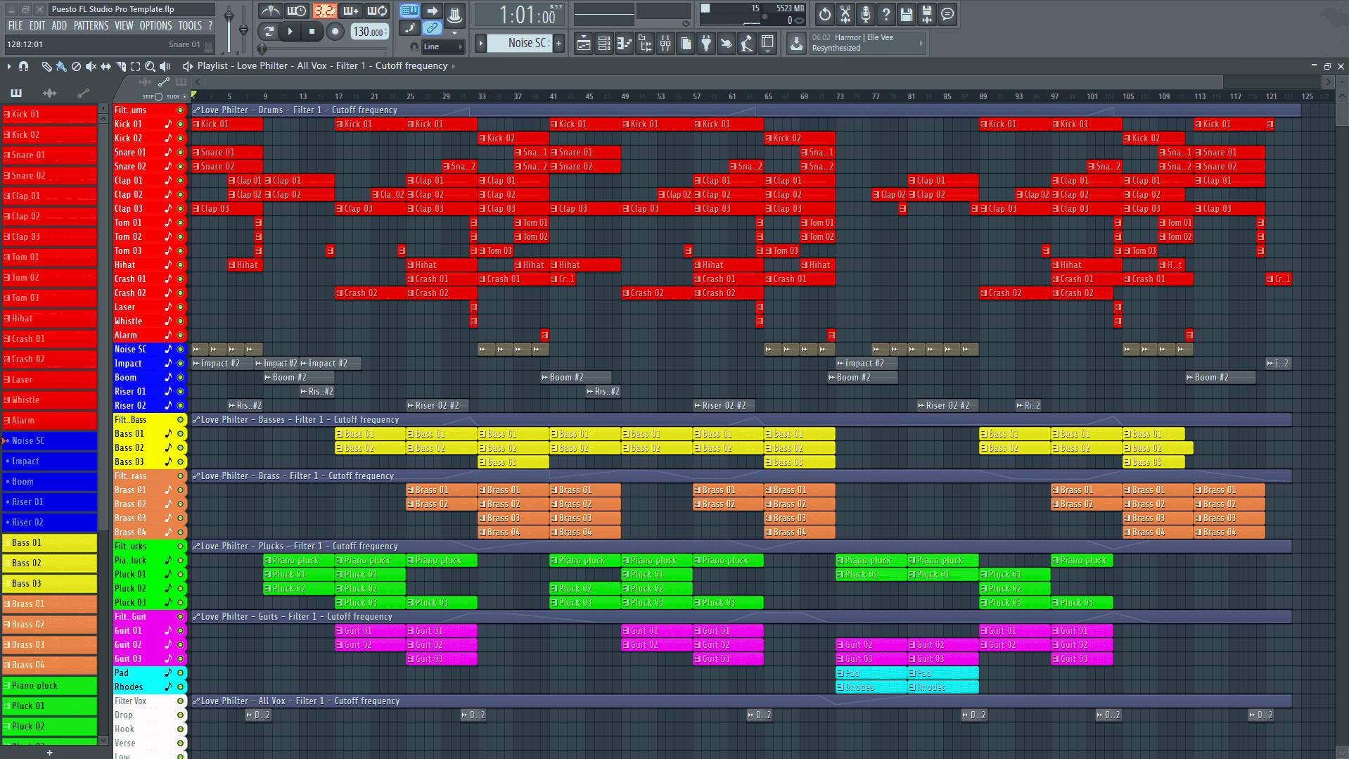 Puesto FL Studio Pro Template