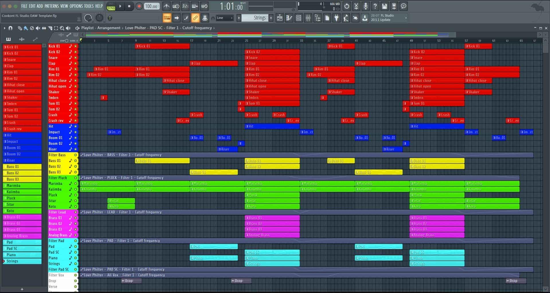 Cookont FL Studio DAW Template